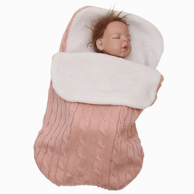 Baby Infant Blanket Swaddle Sleeping Bag Kids Sleep Sack Stroller Wrap Soft warm