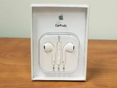 New Authentic OEM Apple Earpods W/ Remote & Mic For iPhone 6S 6+ 5SE 5C 5 6S+
