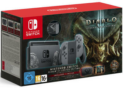 Nintendo Switch Limited Edition + Diablo III: Eternal Collection