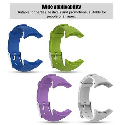 Silicone Replacement Band Strap Accessories Lady Bracelet For Suunto M1 M2 M4 M5