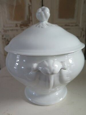 Große Antike Terrine Soupiere  - french antique Tureen - Shabby Brocante chic
