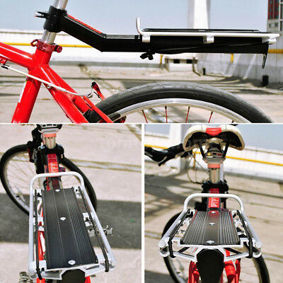 Cargo Bicycle Rear Rack Luggage Cycling Back Alloy Bike Pannier MTB Seat Post