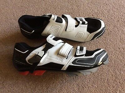 Shimano XC51 SPD shoes, white, size 43, New, Ex Sample Shoes, No Box, Uk Seller.