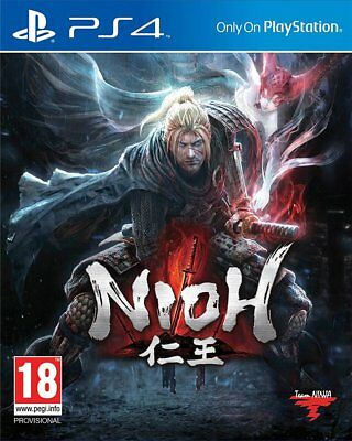 Nioh (PS4)  BRAND NEW AND SEALED - IN STOCK - QUICK DISPATCH - FREE UK POSTAGE