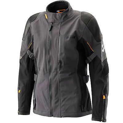KTM HQ Adventure Waterproof Windproof Breathable Mens Motorcycle Jacket Grey