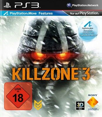 PS3 / Sony Playstation 3 game - Killzone 3 [Standard] EN/GER boxed