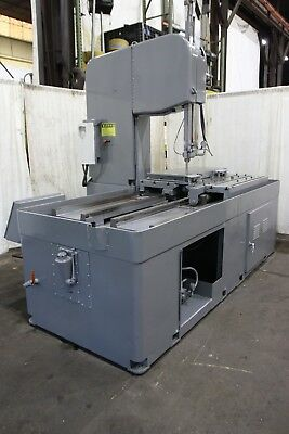 """26"""" X 26"""" X 48"""" Doall Vertical Band Mill Plate Saw: Yoder #70657"""