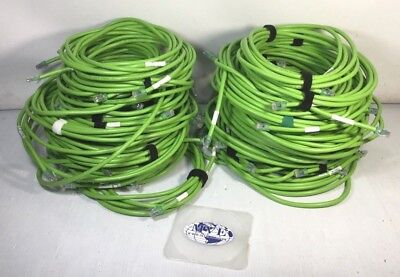 10FT Green CAT6A COMMSCOPE CPC7732-04F010 GS10E 3.0M GIGASPEED X10D SYSTIMAX