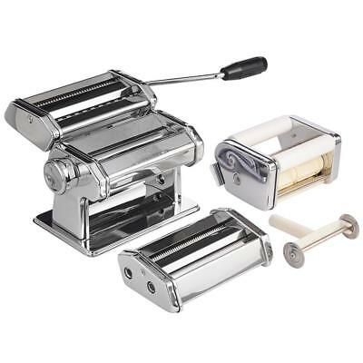 Classic Manual Pasta Machine Spaghetti Cutter Perfect For Home Cooking Brand New