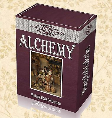 220 Old Alchemy Books On DVD Philosophy Occult Science Alchemical Manuscripts J0