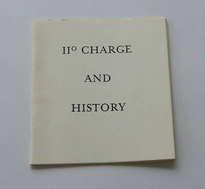 Masonic S.R.I.A  11 charge and history