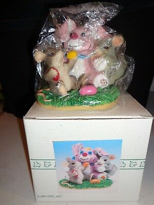 "Charming Tails Figurine ""No Thanks I'm Stuffed"" 88/603 Fritz & Floyd"