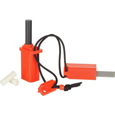 UST Strike Force Flint-Based Fire Starter - Orange
