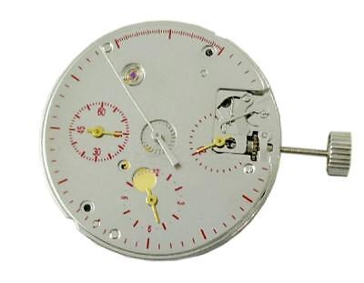 Seagull TY2903 - ST1903 mechanical 3 registered chronograph movement