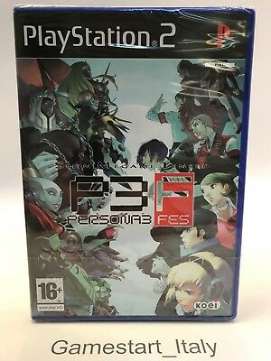 Persona 3 Fes - Sony Ps2 Playstation 2 - New Sealed Pal Version - Very Rare