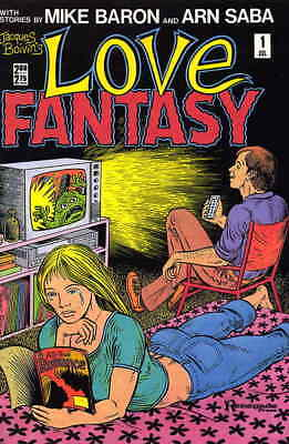 Love Fantasy #1 FN; Renegade   save on shipping - details inside