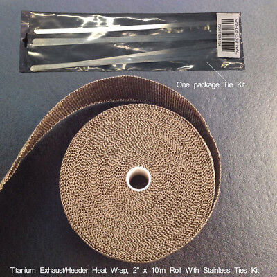 "Turbo Wrap Cable Tape With 6 Ties Basalt Fiber 2"" Accessory"