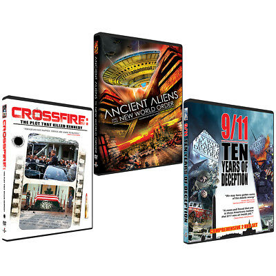 Ancient Aliens to JFK Assassination - The Jim Marrs Collection - Deluxe DVD SET!