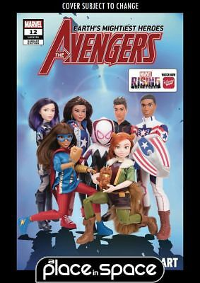 Avengers, Vol. 8 #12C - Marvel Rising Doll Homage Variant (Wk02)