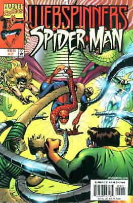 Webspinners: Tales of Spider-Man #2B VF/NM; Marvel | save on shipping - details