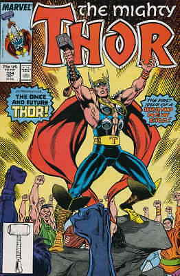 Thor #384 VF/NM; Marvel | save on shipping - details inside