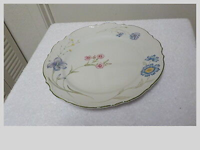 """VINTAGE Lot OF SIX Fine China Of Japan Marilyn 10 1/2"""" DINNER PLATES EXCELLENT"""