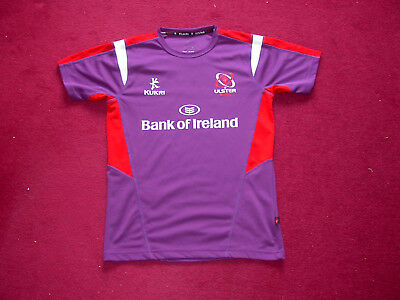 Kukri Ulster Rugby Training Top/Warmup shirt/jersey/adult small/38 inch chest