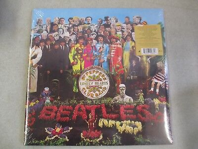 Factory Sealed 2017 Beatles - Sgt Peppers Lonely Hearts Club Band Lp Anniversary