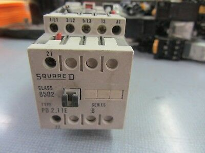 With 8502 P 4.10 Auxiliary Contact 120V Coil Square D 8502 PE 4.00E Contactor