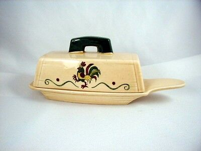 California Provincial- Covered Butter Dish by Metlox - Poppytrail - Vernon