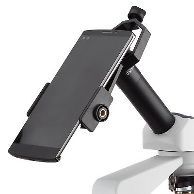 AmScope AD-TMD Eyepiece Mounted Mobile Device Mount for Microscopes & Telescopes