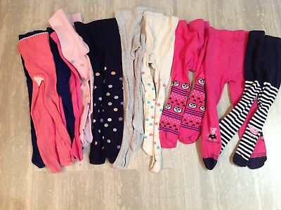 Girls Tights Bundle 18-24 Months - M&S, Mothercare