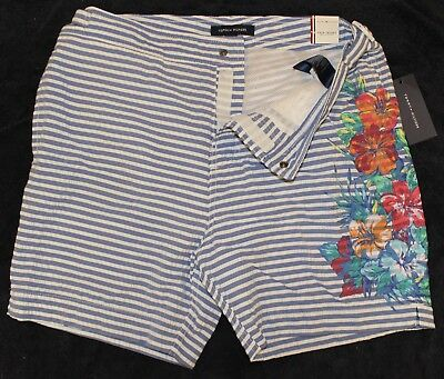 06e883831a Tommy Hilfiger Mens Maillot Bain Swim Trunks Lined Bathing Suit NWT $69  Size XL