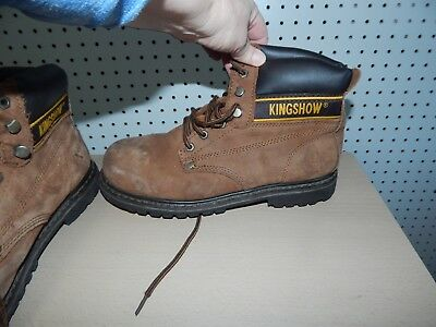 KINGSHOW Men's 8036 Classic Work Boots - size 11