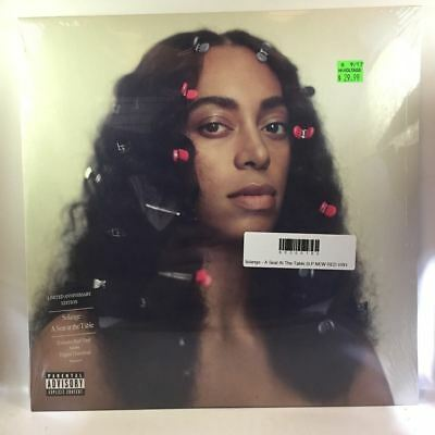 Solange - A Seat At The Table 2LP NEW RED VINYL