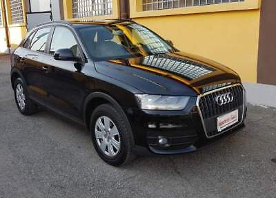 Audi q3 2.0 tdi advanced 140 cv - km. certificati!unipropr