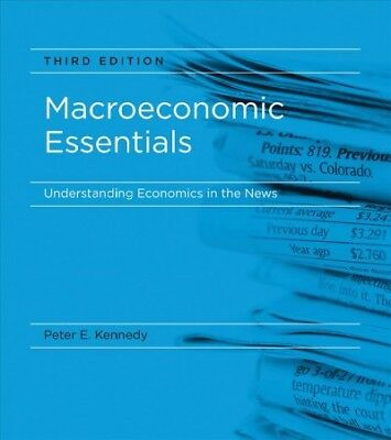 Macroeconomic Essentials : Understanding Economics in the News, Paperback by ...