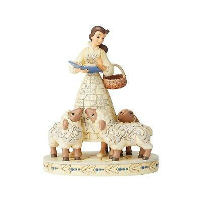 BELLE WHITE WOODLAND Beauty and the Beast Figure Disney Traditions Jim Shore NEW