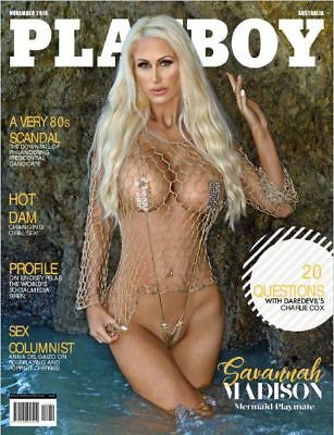 Playboy Australia - November 2018 Electronic PDF magazine