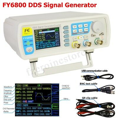 FeelTech FY6800 20-60MHz Function Arbitrary Waveform Pulse DDS Signal