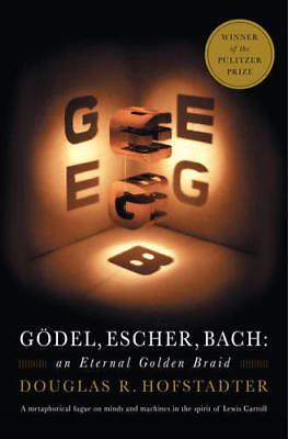 Godel, Escher, Bach: An Eternal Golden Braid by Douglas R. Hofstadter, NEW Book,