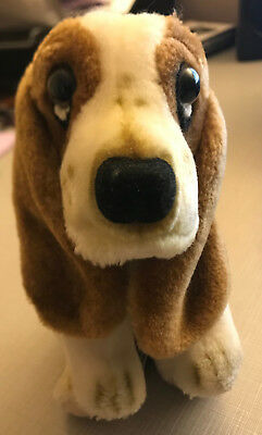 VINTAGE 1985 Puppy PLUSH PRESENTS HAMILTON GIFTS Basset Hound