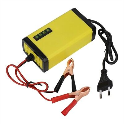 Intelligent 12V Motorcycle Motorbike Battery Charger Automatic Trickle Display