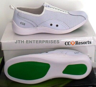 Lawn Bowls Australia  Approved Zip Up Ladies Sorrell Shoe 36 (5) - 41(10) Euro