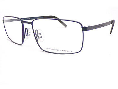 Porsche Design Titanium Spectacle Glasses Frame Satin Blue P8314 C