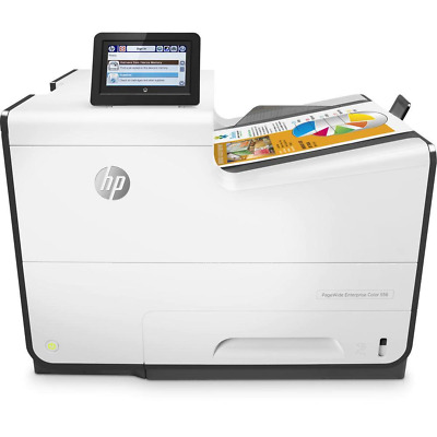 HP Pagewide Enterprise 556dn Printer + Jetdirect 3000w NFC/Wireless Accessory (J