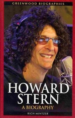 Howard Stern : A Biography, Hardcover by Mintzer, Rich, ISBN-13 9780313380327...