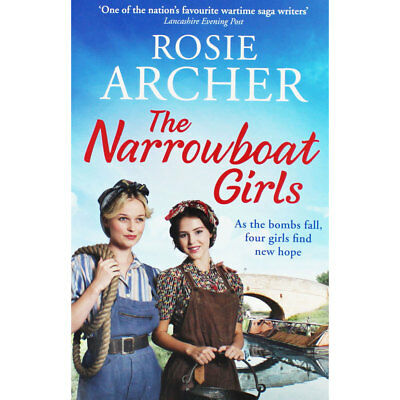 The Narrowboat Girls by Rosie Archer (Paperback), New Arrivals, Brand New