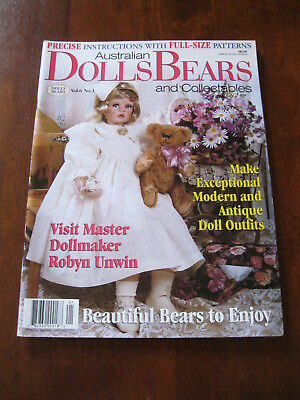 Australian Dolls Bears & Collectables: Vol.6 No. 1: :Preloved