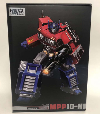Transformers MPP10H clear crystal edition alloy autobot toy model
